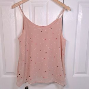 Adorable Pink with Polkadots Camisole medium